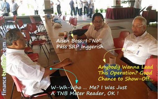 Missing MH370 - Najib, Noh Omar, Muhyiddin - Teh Tarik Session