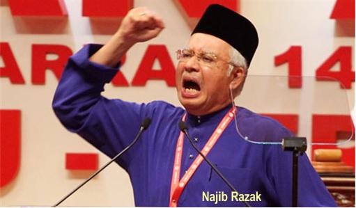 Missing MH370 - Najib Razak Racist