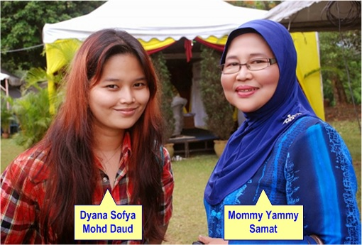 Teluk Intan by-Election - Dyana Sofya Mohd Daud and Mommy Yammy Samat