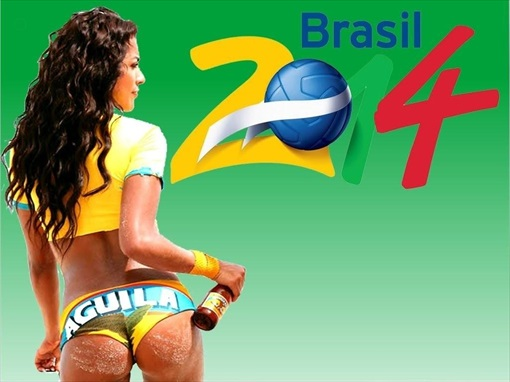 2014 FIFA World Cup Brasil - Sexy Girl
