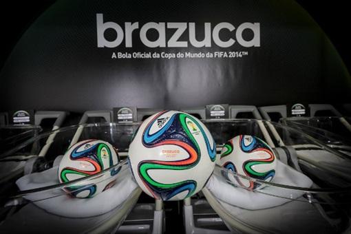 2014 FIFA World Cup High-Tech - Adidas Brazuca ball