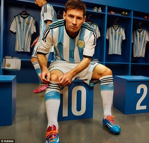 2014 FIFA World Cup High-Tech - Lionel Messi