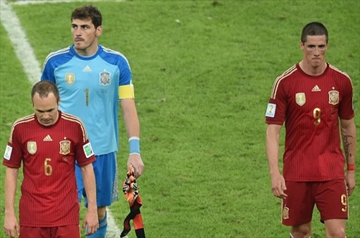2014 FIFA World Cup - The world champions are out of the 2014 World Cup after two consecutive defeats