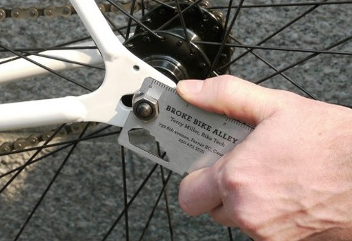 Broke Bike Alley Multi-Tool Business Card