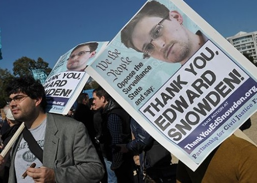 Government Spying PRISM - Edward Snowden Hero