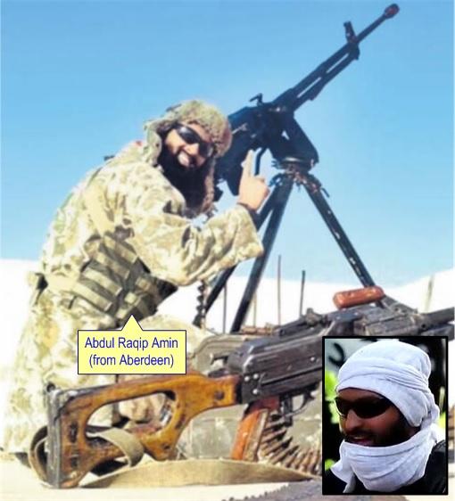 ISIS British Muslim Extremists - Abdul Raqip Amin
