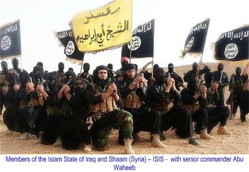ISIS Terror Group Members