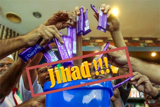 Perkasa Extremist - Jihad Against Cadbury Chocolate