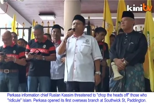 Perkasa Extremist - Threaten to Chop Off Heads
