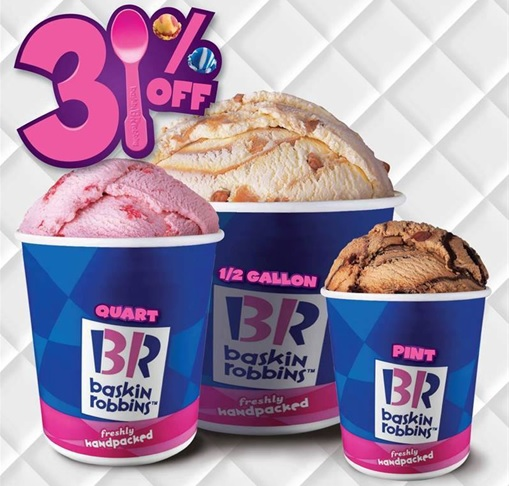 Secret and Hidden Message in Logo - Baskin Robbins