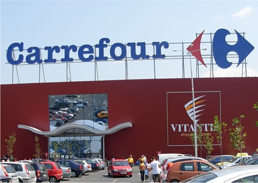Secret and Hidden Message in Logo - Carrefour