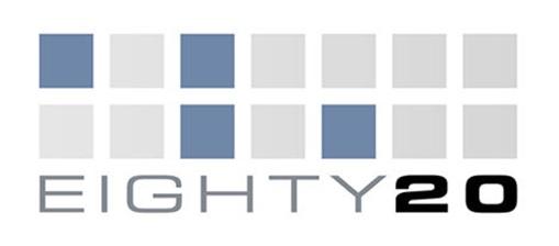 Secret and Hidden Message in Logo - Eighty-20