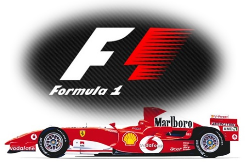 Secret and Hidden Message in Logo - Formula-1