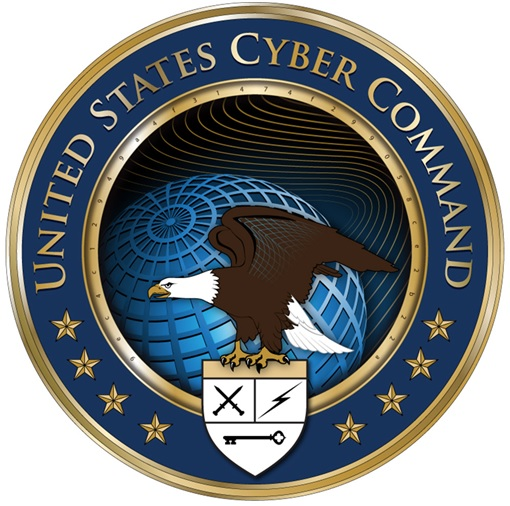 Secret and Hidden Message in Logo - United States Cyber Command