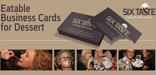 Six Taste Eatable Business Card