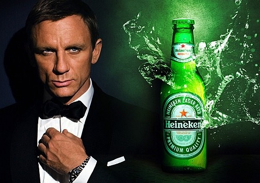 Top 10 Best Selling Beer Brands WorldWide - 2012 - Heineken Daniel Craig