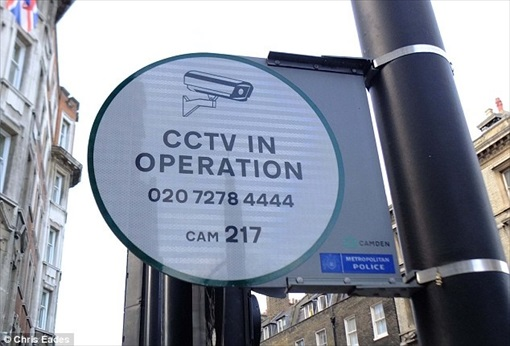 UK City Council-run CCTV in Operation Signboard