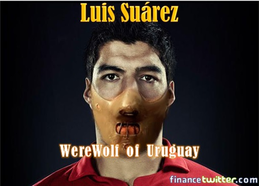 Uruguay Luis Suárez - Werewolf of Uruguay