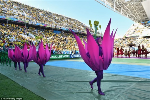 World Cup 2014 Brazil - Opening Ceremony - Costume 3