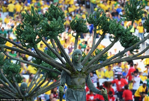 World Cup 2014 Brazil - Opening Ceremony - Costume 4