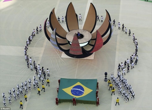 World Cup 2014 Brazil - Opening Ceremony - Costume 8