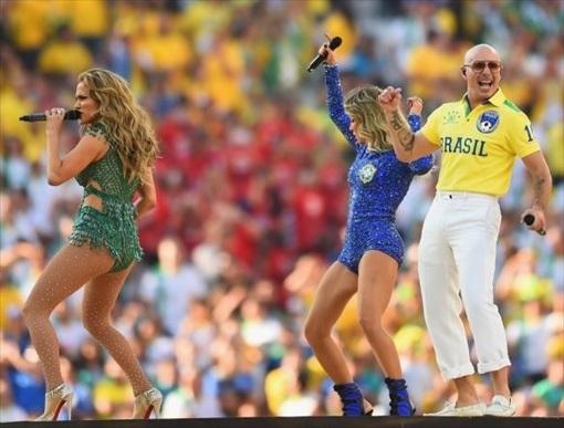 World Cup 2014 Brazil - Opening Ceremony - Jennifer Lopez 1