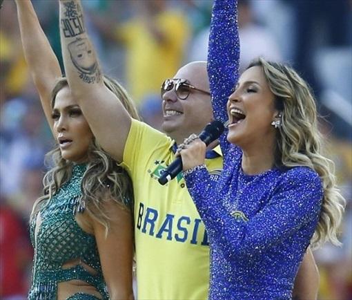 World Cup 2014 Brazil - Opening Ceremony - Jennifer Lopez 10