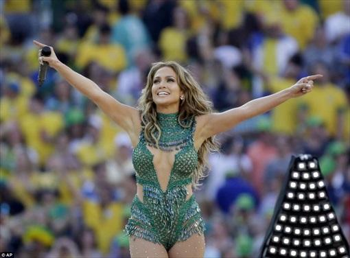 World Cup 2014 Brazil - Opening Ceremony - Jennifer Lopez 2