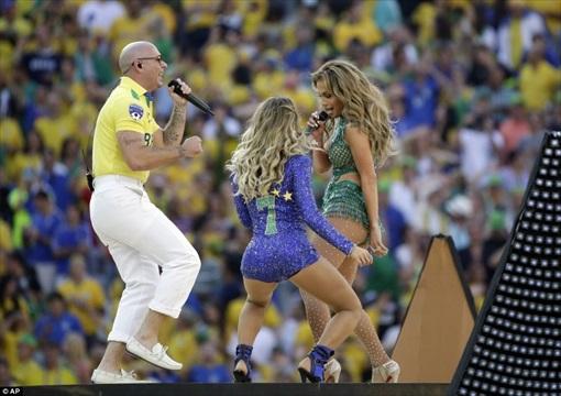 World Cup 2014 Brazil - Opening Ceremony - Jennifer Lopez 6