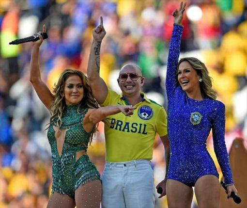 World Cup 2014 Brazil - Opening Ceremony - Jennifer Lopez 7