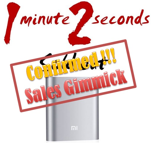 Xiaomi Malaysia FlashSale Gimmick - 30-Sec SoldOut - Confirmed Sales Gimmick