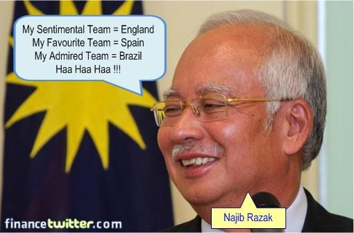 2014 FIFA World Cup - Brazil Lost 1-7 to Germany - Blame Najib Razak