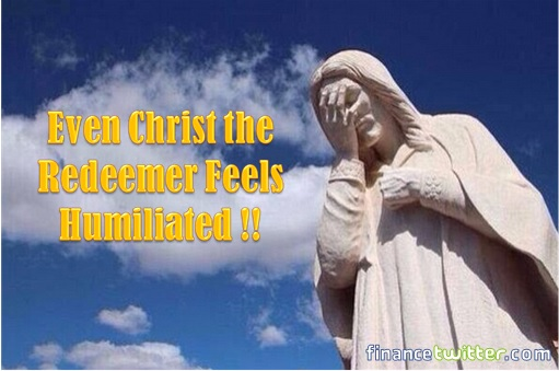 2014 FIFA World Cup - Brazil Lost 1-7 to Germany - Meme - Christ the Redeemer Humiliated