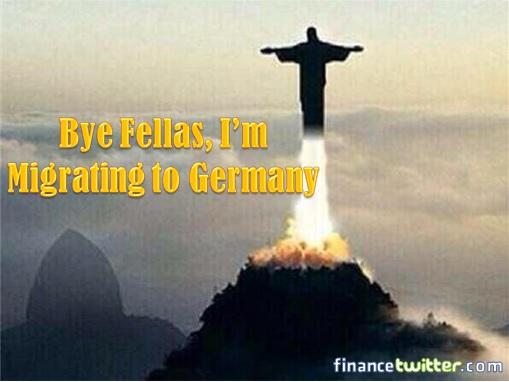 2014 FIFA World Cup - Brazil Lost 1-7 to Germany - Meme - Christ the Redeemer Migrates to Germany
