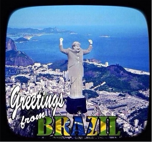 2014 FIFA World Cup - Brazil Lost 1-7 to Germany - Meme - Germany