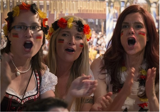 2014 FIFA World Cup - Germany Celebrates 1-0 Win Against Argentina - 1