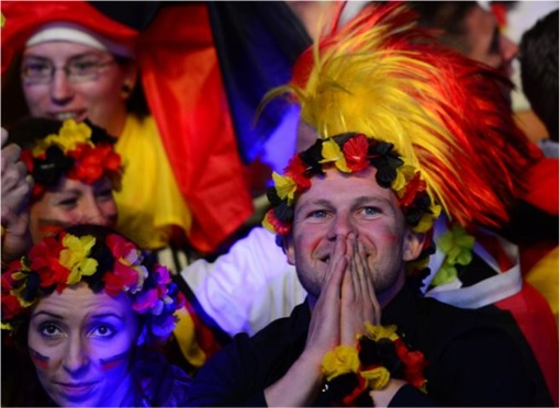 2014 FIFA World Cup - Germany Celebrates 1-0 Win Against Argentina - 10