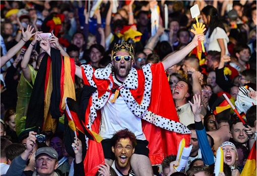 2014 FIFA World Cup - Germany Celebrates 1-0 Win Against Argentina - 5 - King
