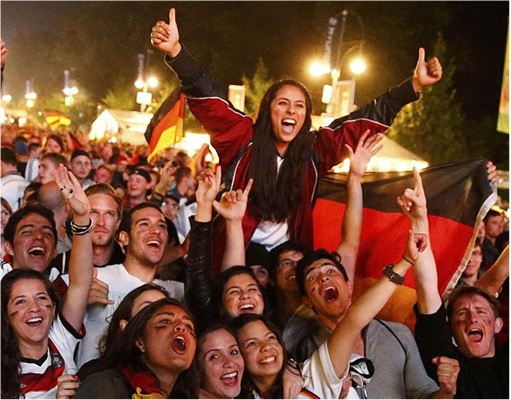 2014 FIFA World Cup - Germany Celebrates 1-0 Win Against Argentina - 7