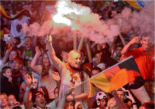 2014 FIFA World Cup - Germany Celebrates 1-0 Win Against Argentina - 8