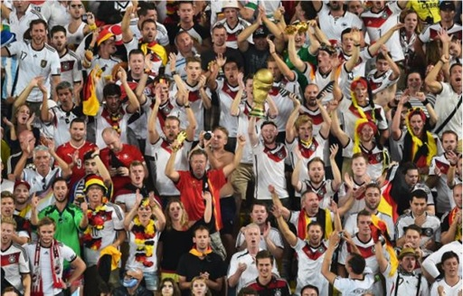 2014 FIFA World Cup - Germany Celebrates 1-0 Win Against Argentina - 9