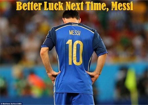 2014 FIFA World Cup - Germany Celebrates 1-0 Win Against Argentina - Better Luck Next Time, Messi
