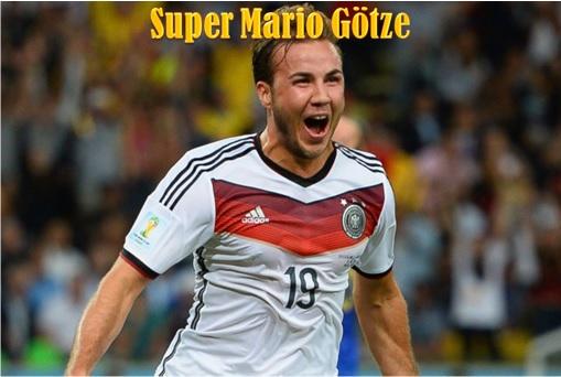 2014 FIFA World Cup - Germany Celebrates 1-0 Win Against Argentina - Mario Gotze Scores - 2