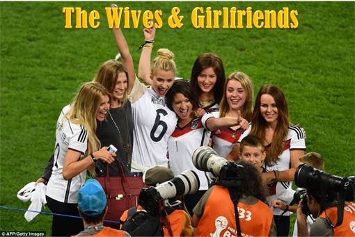 2014 FIFA World Cup - Germany Celebrates 1-0 Win Against Argentina - The Wives and Girlfriends