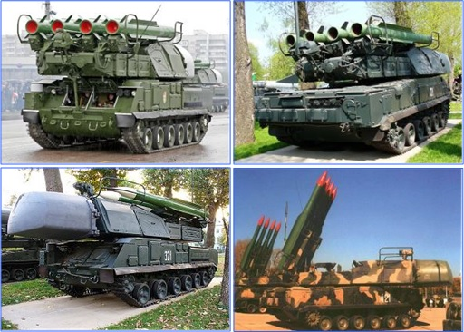 Buk M1 - SA-11 Gadfly Missile Systems Battery