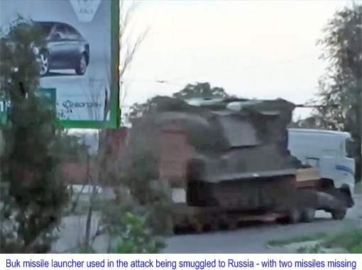 Buk M1 - SA-11 Gadfly Missile Systems Spotted After Used With 2 Missiles Missing