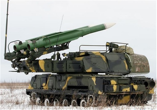 Buk M1 - SA-11 Gadfly Missile Systems Spotted display