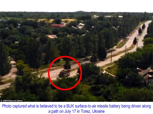Buk M1 - SA-11 Gadfly Missile Systems Spotted in Torez
