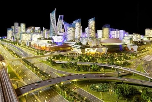 Dubai's Mall Of The World - world's first temperature-controlled city 1