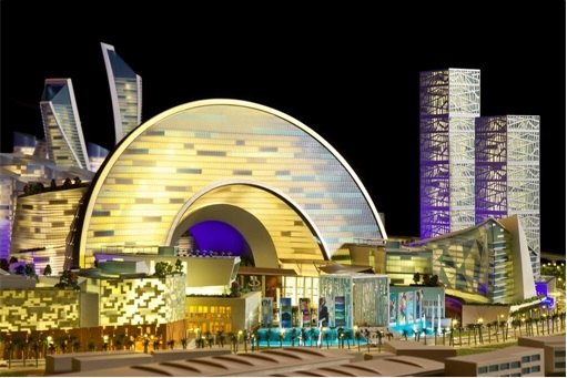 Dubai's Mall Of The World - world's first temperature-controlled city 3